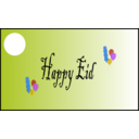 download Happy Eid clipart image with 225 hue color