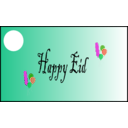 download Happy Eid clipart image with 315 hue color