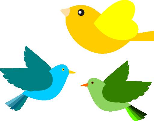 Passarinhos Birds Clipart
