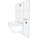 download Modern Toilet clipart image with 135 hue color