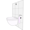 download Modern Toilet clipart image with 225 hue color