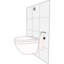 download Modern Toilet clipart image with 315 hue color