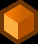 Icon Cube Orange