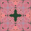 Art Nouveau Tile Pattern