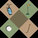 Golf Decoration