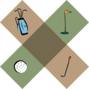 Golf Decoration