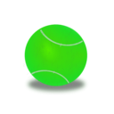 download Tennis Ball clipart image with 45 hue color