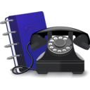 download Phone clipart image with 225 hue color