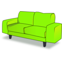 download Sofa Tandem clipart image with 45 hue color