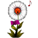 download Singing Daisy clipart image with 315 hue color