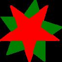 Greenredstars