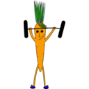 Weightlifting Carrot