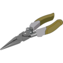 download Pliers clipart image with 180 hue color