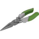 download Pliers clipart image with 225 hue color