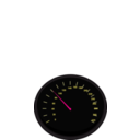 download Speedometer3 clipart image with 315 hue color