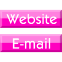 download Website E Mail Buttons clipart image with 315 hue color
