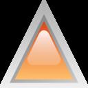 Led Triangular Orange