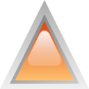 Led Triangular Orange