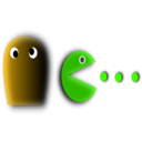 download Pacman clipart image with 45 hue color