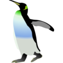 download Emperor Penguin clipart image with 45 hue color