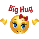 Big Hug Smiley Emoticon
