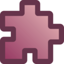 download Icon Puzzle Purple clipart image with 45 hue color