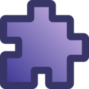 download Icon Puzzle Purple clipart image with 315 hue color