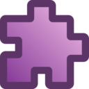 Icon Puzzle Purple