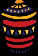 African Jar Icon