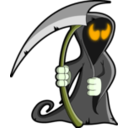 download Grim Reaper clipart image with 45 hue color