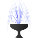 download Fountain clipart image with 45 hue color