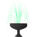 download Fountain clipart image with 315 hue color