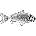 download Fish clipart image with 45 hue color