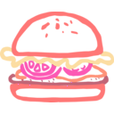 download Burger Linda Kim 01 clipart image with 315 hue color