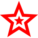 Red Star In Star