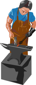 Blacksmith And Tools