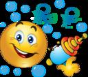 Boy Water Gun Smiley Emoticon
