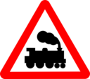 Roadsign Train