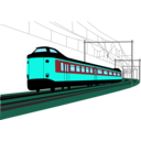 download Dutch Train clipart image with 135 hue color
