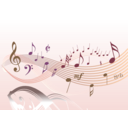 download Musical 2 clipart image with 45 hue color