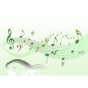 download Musical 2 clipart image with 135 hue color