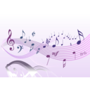 download Musical 2 clipart image with 315 hue color