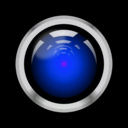 download Hal9000 clipart image with 225 hue color