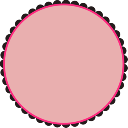 Scalloped Round Frame Clipart I2clipart Royalty Free Public