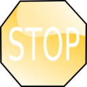 download Stop Sign clipart image with 45 hue color