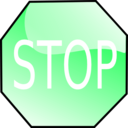 download Stop Sign clipart image with 135 hue color