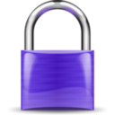 download Padlock Violet clipart image with 315 hue color