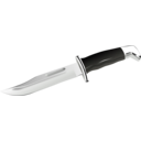 download Knife clipart image with 225 hue color