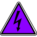 download Warning clipart image with 225 hue color