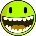 download Happy Face Cara Feliz clipart image with 45 hue color